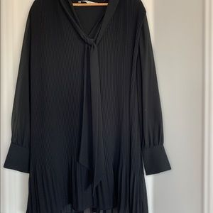 Zara black lined dress - great condition worn once